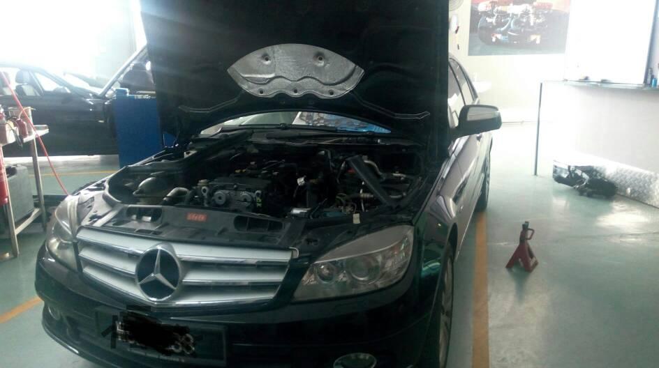 Merz W204 C200 Kompressor Replacing Throttle Body Due Engine Warning Additonal Valve Cover